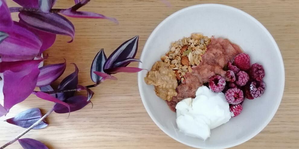 Greek Yogurt and Rhubarb_SB